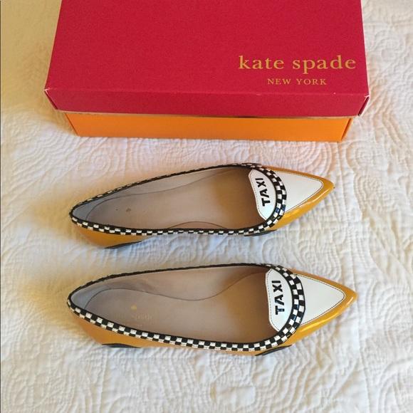 3478fffe46f8 kate spade Shoes - Kate Spade taxi flats size 9